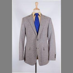 Stafford 40R Beige Sport Coat Y085